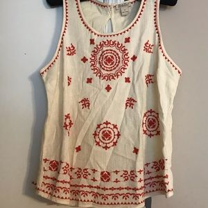 NWOT Lucky Brand size XL top